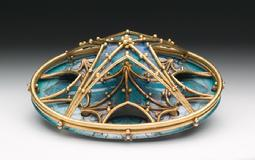Diane Falkenhagen, Gothic Revival Brooch (The Sublime and the Beautiful); 2012