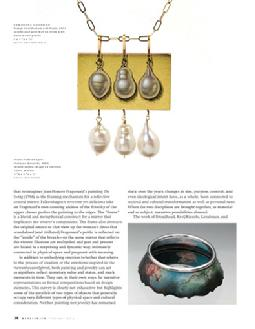 Metalsmith Magazine, Vol 32 No 2, Spring 2012; pgs 32 - 39
